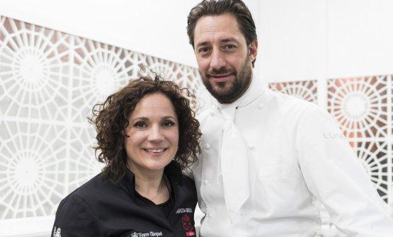 Fabrizia Meroi con Luigi Taglienti