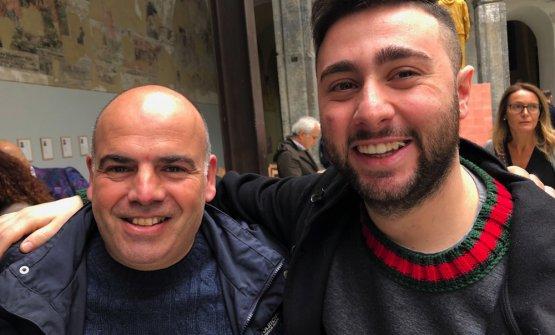 Alfonso Caputo e Ciro Oliva