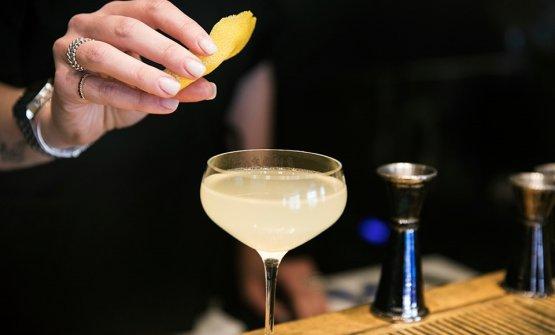 Il cocktail bar è una delle attrazioni del nuovo Filippo