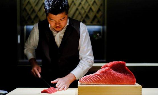 Michimasa Nakamura, chef diSushi Ma Tokyo, un nuovo modo di concepire il genere