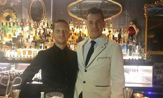 Da sinistra, Claudio Pitta e Cristian Silenzi