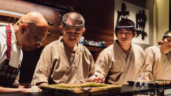 Wicky con il suo maestro giapponese, qualche settimana fa