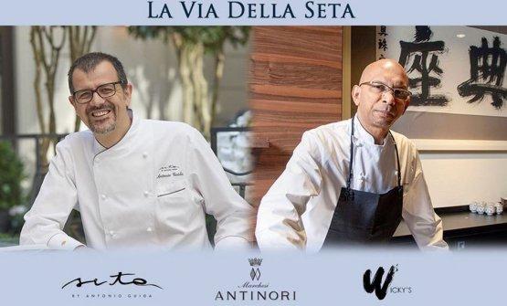 La serata a quattro mani di lunedì 8 luglio, con ospite Antonio Guida. Qui il menu, per prenotazioni tel.+39 02 89093781