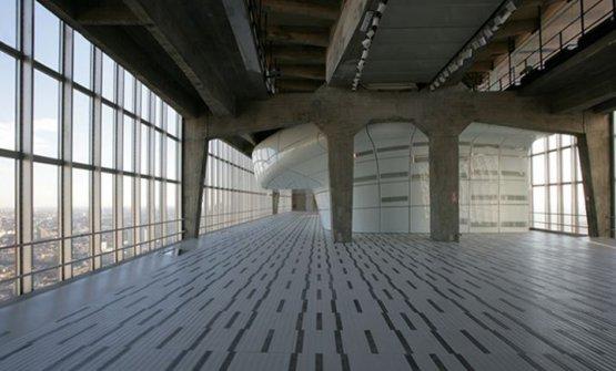 Il 31° piano di Palazzo Pirelli