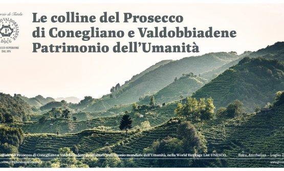 Le colline sono diventate patrimonio dell'Unesco