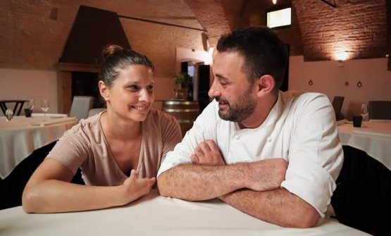 Simone BredaeLiana Genini: chef e responsabile