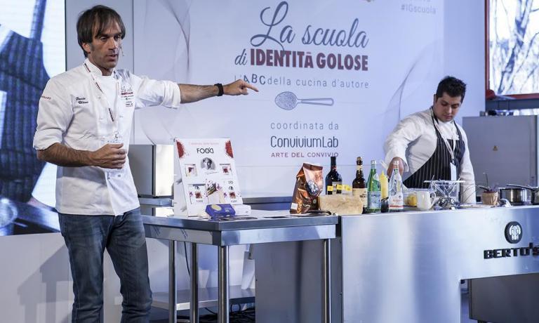 Davide Oldani, chef del D'O di Cornaredo, per
