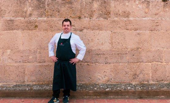 Salvatore Camedda, ottimo chef al suo Somu di Oris