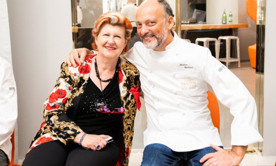 Annie Féolde e Moreno Cedroni, tra i tanti ospiti