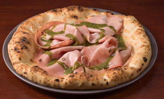 La pizza Pistadella gluten-free