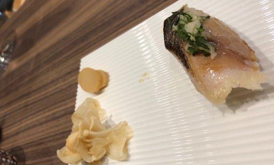 Sgombro sushi