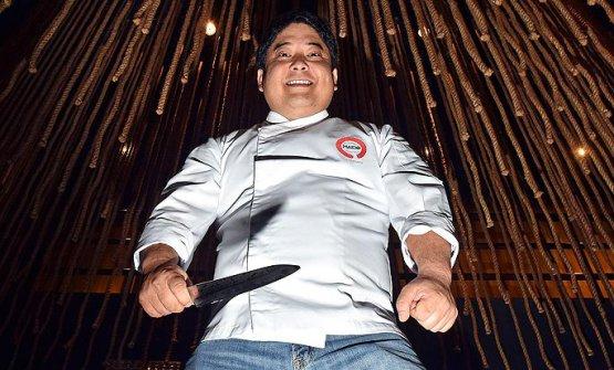 Mitsuharu Tsumura, chef-patron del Maido di Lima,