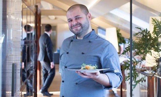 Stefano Mattara, classe 1982, dal 2018 è chef al