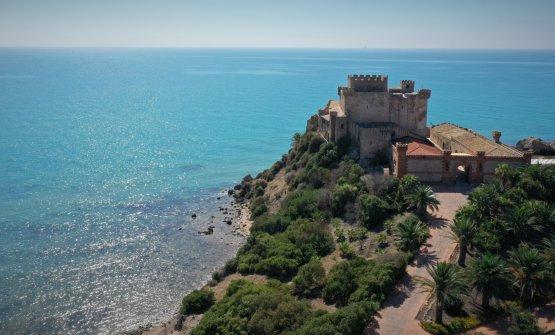 Il castello di Falconara, una delle sedi di 'nnumari