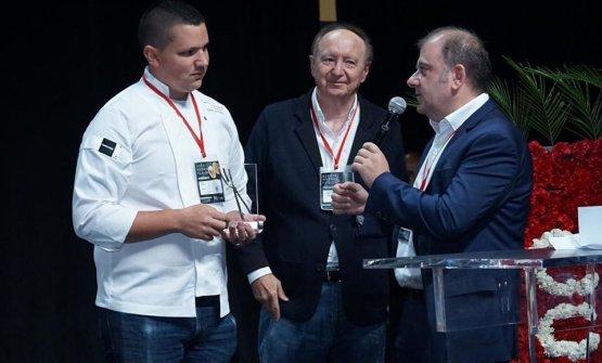 Warren premiato durante Madrid Fusion Bogotà