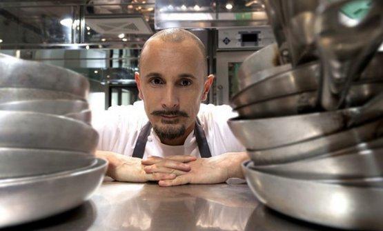 Il menu verticale di Enrico Crippa