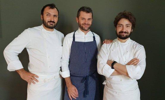 Con Remo e Mario Capitaneo