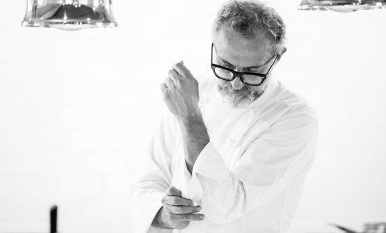Massimo Bottura è statoospite sabato 25 aprile