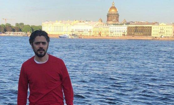 Matteo Baronetto a spasso per San Pietroburgo