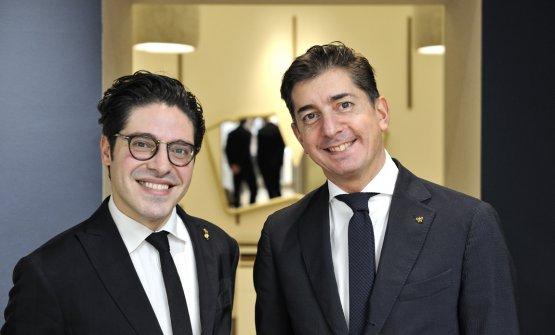 Alberto Piras e Nicola Dell'Agnolo