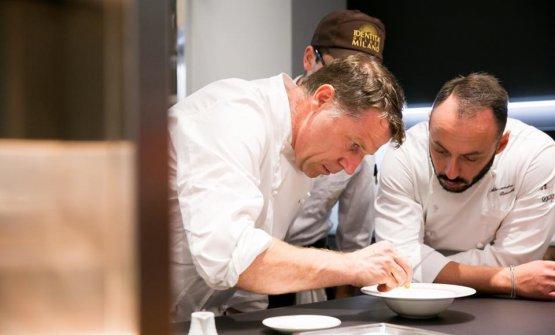 Alessandro Rinaldi, sulla destra, con il grande Terry Giacomello, qualche settimana fa