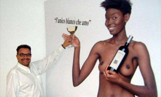 Oliviero Toscani con la sua controversa pubblicità ai vini del Collio