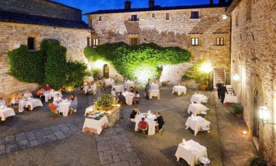 Cena magica a Il Pievano nel Castello di Spaltenna