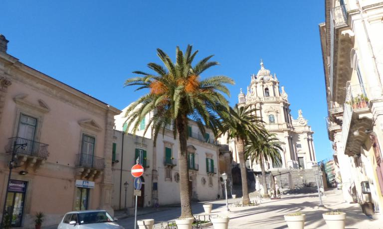 La bellissima Ragusa Ibla, che per quattro anni è stata la casa di Valerio Capriotti