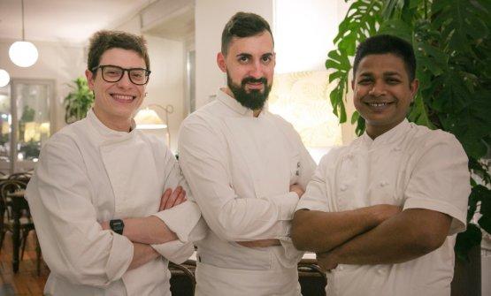 La squadra di cucina: al centroPaolo Ribotto
