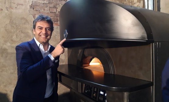 Mario Moretti, ceo di Moretti Forni, a LaCittà della Pizza