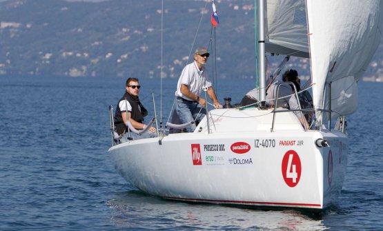 Matteo Metullio,primo a sinistra