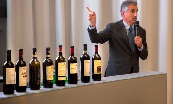 Il Presidente delConsorzio Chianti Classico,Gi
