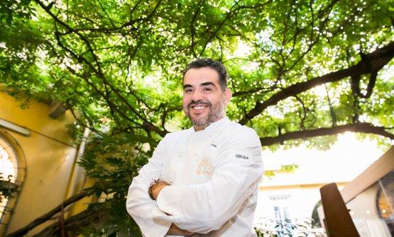 Roy Caceres, chef colombiano del ristorante Metamo