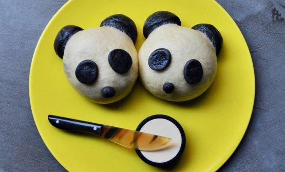 Panda, burro e acciughe(creditBentoteca Milano)