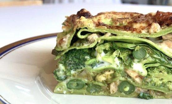 Lasagna verde e ragù bianco, uno dei piatti propo