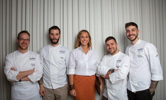 I giovani finalisti italiani conCamilla Cancelli