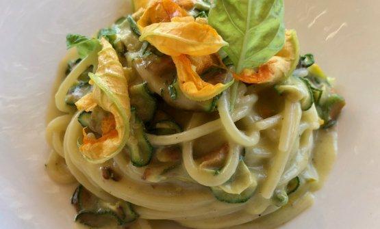 Spaghetti alla Nerano, magnifici