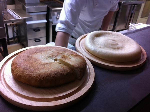 Due basi per le pizze gastronomiche degli Alajmo a