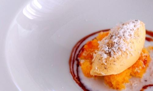 Beer and almonds by Federico Delmonte, chef and pa