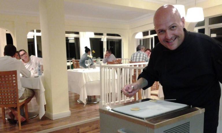 Chef Andrea Bernardi, 36: Italian (originally from