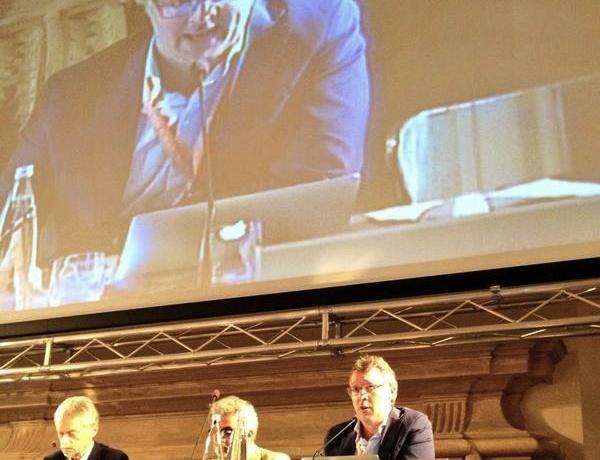 Gabriele Zanatta: il ruolo della comunicazione dopo i congressi di cucina d'autore (foto De Cesare Viola)