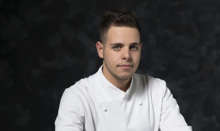 Carmine Di Domenico, sous-chef at restaurant Casa del Nonno 13 (S. Eustachio, Salerno)