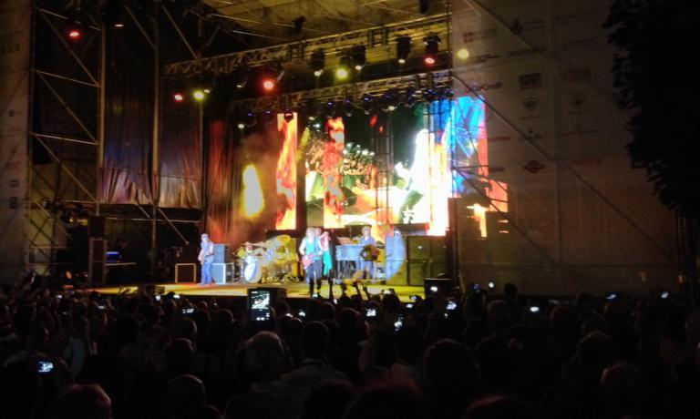 L'edizione 2014 di Collisioni Barolo si � aperta venerd� 18 luglio con il concerto dei Deep Purple, band di arzilli settantenni