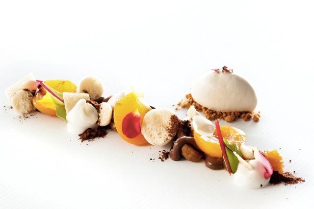 Edizione 2013, uno dei piatti del vincitore Luigi Salomone del ristorante Marennà di Sorbo Serpico (Avellino)