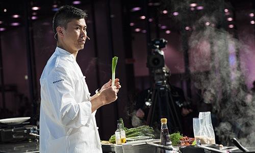 Prin Polsuk, sous chef del ristorante Nahm di Bang