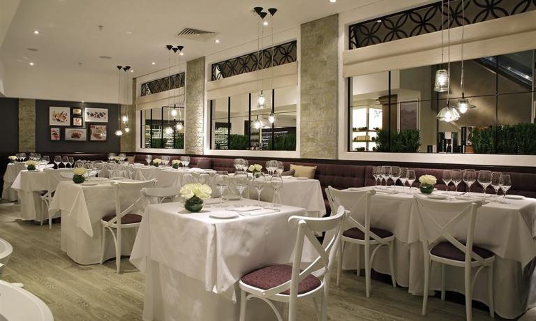 Il ristorante di Stelle di Stelle al piano -1 di Harrods.Si prenota via e-mail a stelle.di.stelle@harrods.com