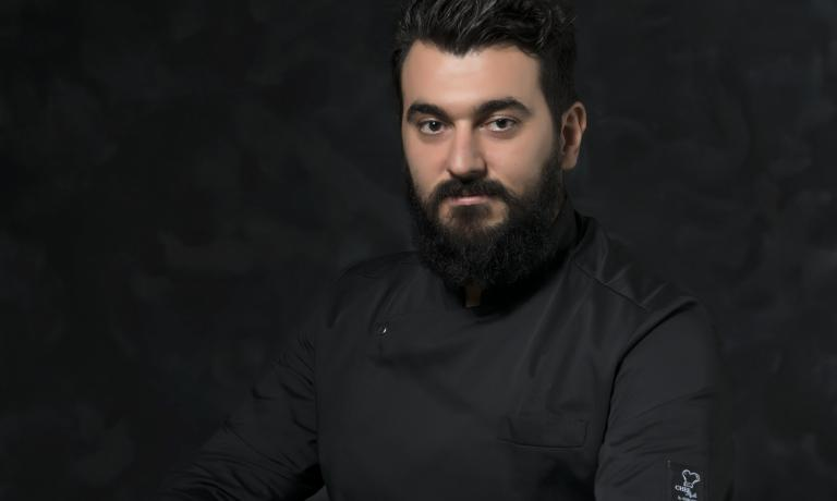 Davide Del Duca, chef at restaurant Osteria Fernanda (Rome)