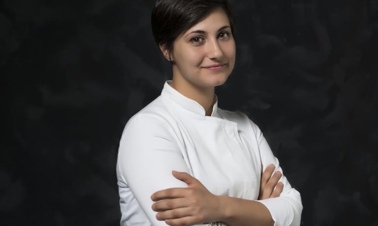Federica Andrisani, ex sous-chef ristorante El Coq (Marano Vicentino)