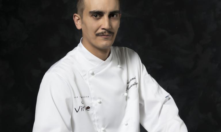 Giovanni Sorrentino, chef at restaurant Vinile (Salerno)