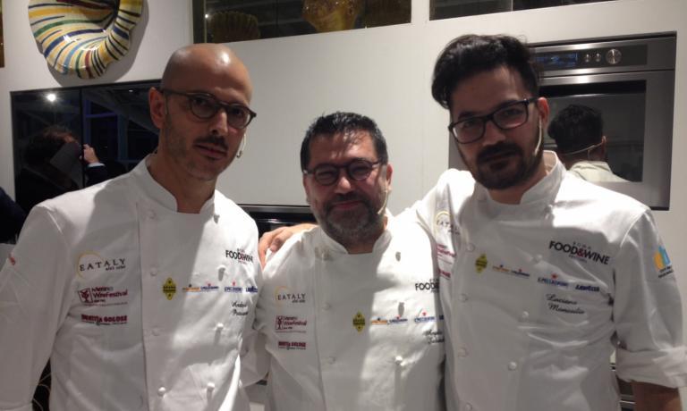 Il trio del sabato sera: Andrea Provenzani, Angelo Sabatelli e Luciano Monosilio